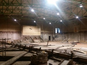 Sheridan School current gymnasium