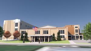 Sheridan School rendering