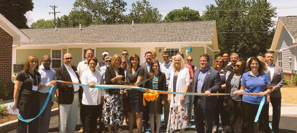 Home Place Gardens ribbon cutting