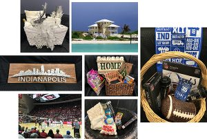 A few items available in the silent auction