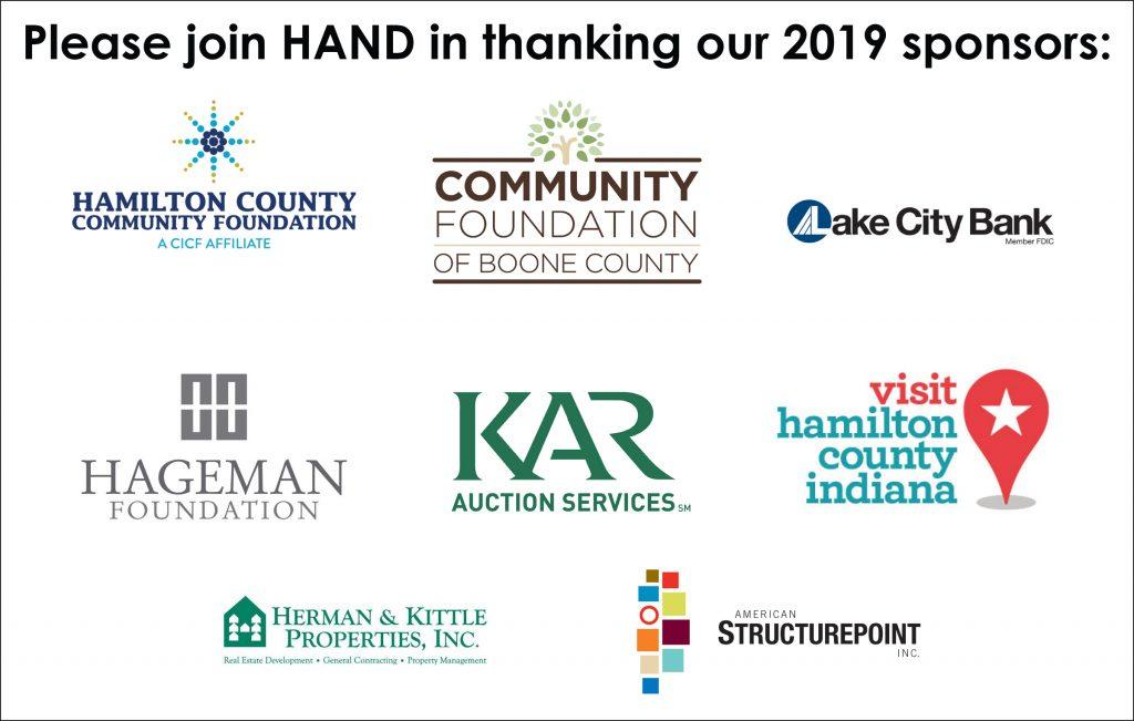HAND 2019 sponsors: