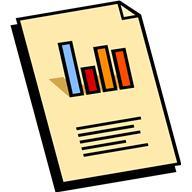 clip art of generic report